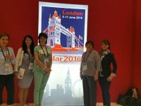 EULAR 2016 június 8-11. London